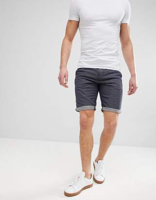 Tom Tailor Slim Fit Drawstring Chino Shorts In Spot