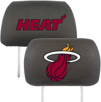 Fanmats FANMATS Miami Heat 2-pc. Head Rest Covers