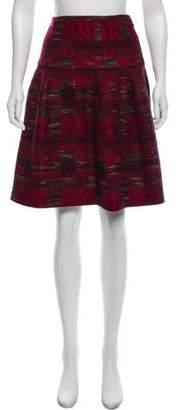Oscar de la Renta Knee-Length Tweed Skirt