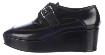 Balenciaga  Balenciaga Leather Platform Oxfords