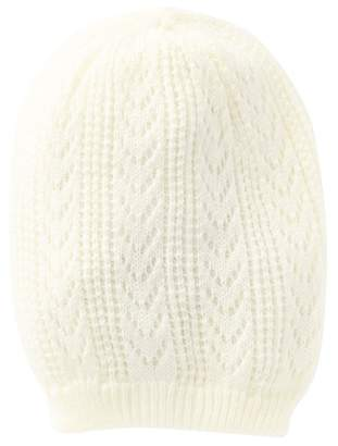 14th & Union Open Weave Knit Beanie