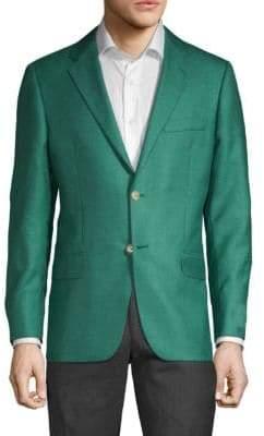Hickey Freeman Milburn II Regular-Fit Cashmere & Silk Sportcoat