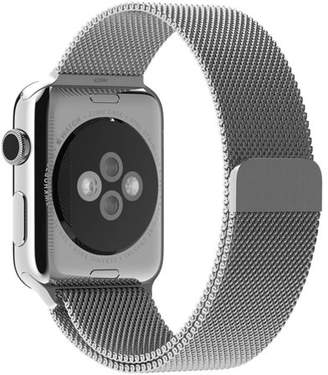 Beikel Apple Watch 3 42mm Milanese Loop Stainless Steel Bracelet Strap Bands with Unique Magnet Lock for Apple Watch Series 1 2 & 3