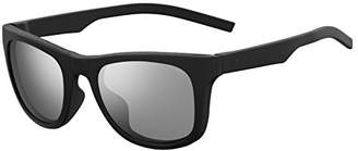 Polaroid Unisex's PLD 7020/S EX 807 Sunglasses, Black Grey