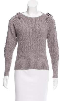 Rebecca Minkoff Knit Long Sleeve Sweater