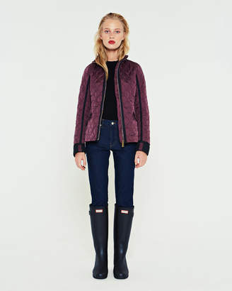 Hunter women's refined quilted trench jacket