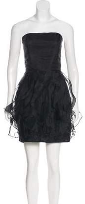 Rachel Zoe Silk Strapless Dress w/ Tags
