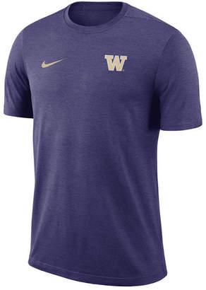 Nike Men's Washington Huskies Dri-Fit Coaches T-Shirt