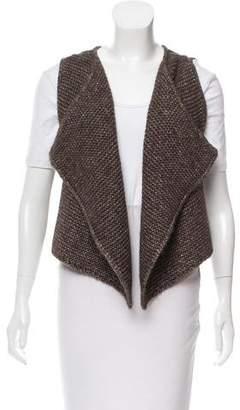 agnès b. Selina Metallic Vest w/ Tags