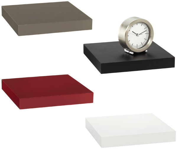 Container Store Deco Wall-Mounted Shelf