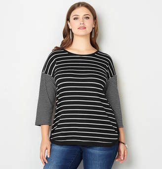 Avenue Striped Thermal Top