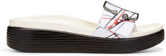 Donald J Pliner FARA, Streak Leather Platform Sandal