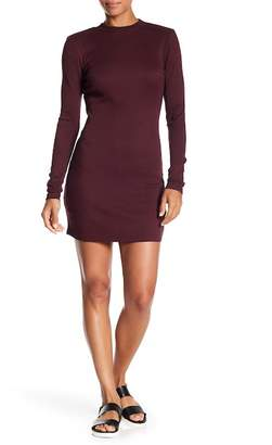 RVCA Latte Ribbed Bodycon Dress