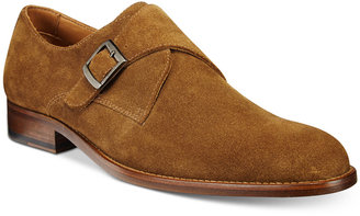 Tasso Elba Men's Lucca Single Monk Loafers, Only at Macy's $170 thestylecure.com