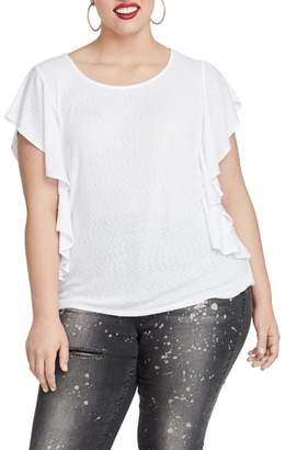Rachel Roy Greta Flutter Sleeve Top