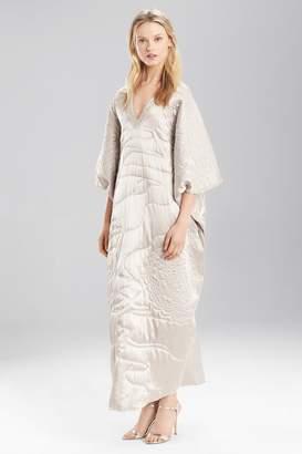Josie Natori Couture Quilting Caftan