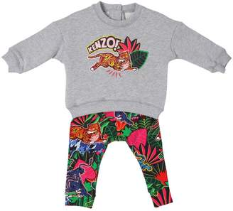 Kenzo Cotton Sweatshirt & Jersey Leggings