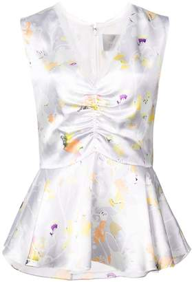 Jason Wu Collection floral sleeveless blouse