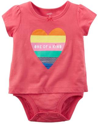 "Carter's Baby Girl One of a Kind"" Bodysuit"