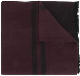 Emporio Armani logo knit scarf