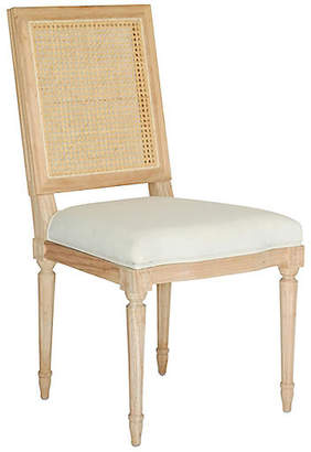 Ave Home Bienville Side Chair - Oyster Linen