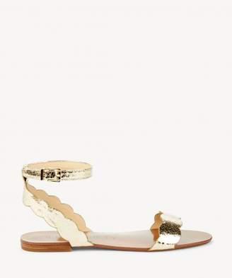Sole Society Odette Scalloped Flat Sandal