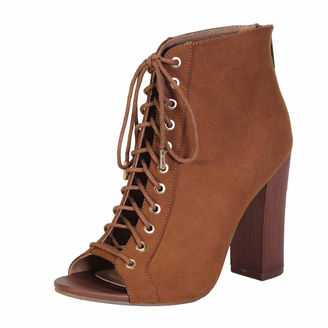 Bamboo Embark Womens Lace-Up Bootie $49.99 thestylecure.com