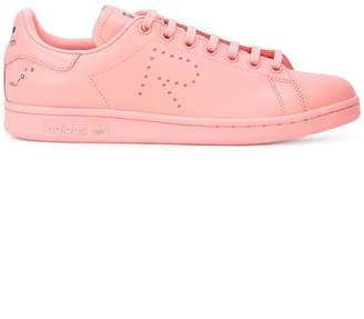 c86d80438 Adidas By Raf Simons pink X raf simons stan smith leather sneakers