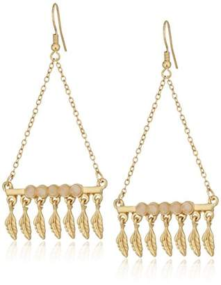 Danielle Nicole Blue Quina Drop Earrings