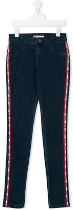 Levi's Kids TEEN side panel tapered jeans