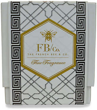 Gardenia Black Fretwork Candle The French Bee