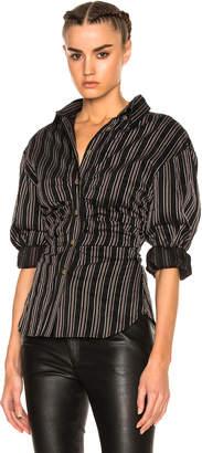 Isabel Marant Verona Top in Black | FWRD