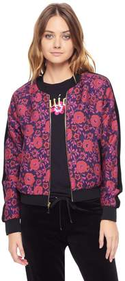 Juicy Couture Maramures Floral Jacquard Jacket