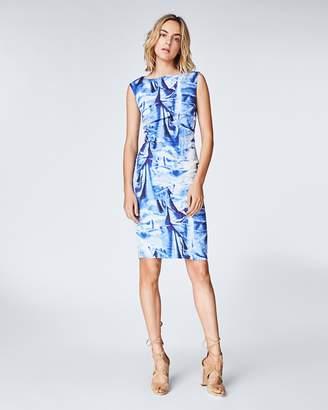 Nicole Miller Faux Crush Dress