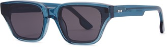 Komono Brooklyn Flush Azure Wayfarer-style Sunglasses