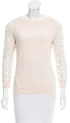 Rachel Zoe Sequined Wool Sweater
