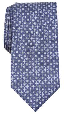 Club Room Men's Classic Floral Neat Silk Tie, Created for Macy's
