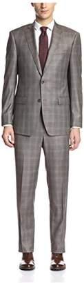 Franklin Tailored Men's Tonal Windowpane Suit