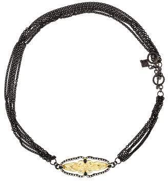 Armenta Diamond & Sapphire Multistrand Wrap Bracelet