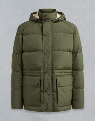 Belstaff Tallow Hooded Padded Jacket
