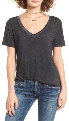 Women's Bp. Washed V-Neck Tee $17 thestylecure.com