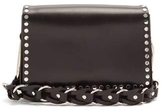 Isabel Marant Calibar Stud Embellished Leather Cross Body Bag - Womens - Black