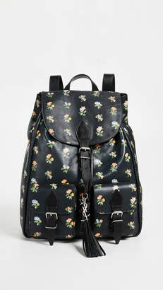 Saint Laurent What Goes Around Comes Around Festival Backpack