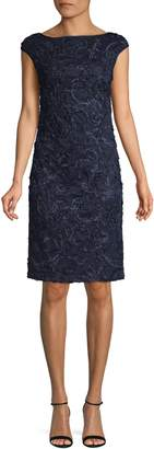 Eliza J Textured Shift Dress