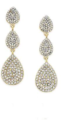 Wild Lilies Jewelry Crystal Teardrop Earrings