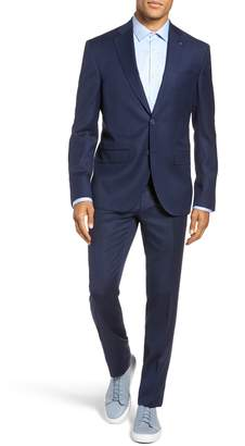 Ted Baker Rove Extra Slim Fit Solid Wool Suit
