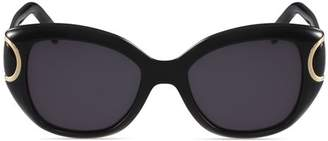 Salvatore Ferragamo Women's Signature Cat Eye Sunglasses, 54mm