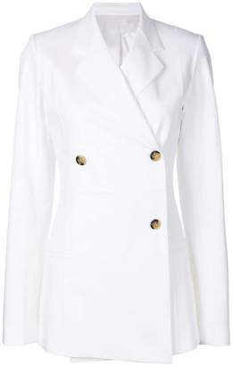 Helmut Lang classic double-breasted coat