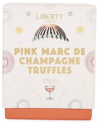Liberty London Pink Marc De Champagne Truffles 175G