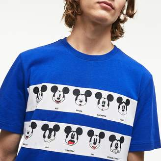 Lacoste Men's Disney Mickey Graphic Band Cotton Jersey T-shirt